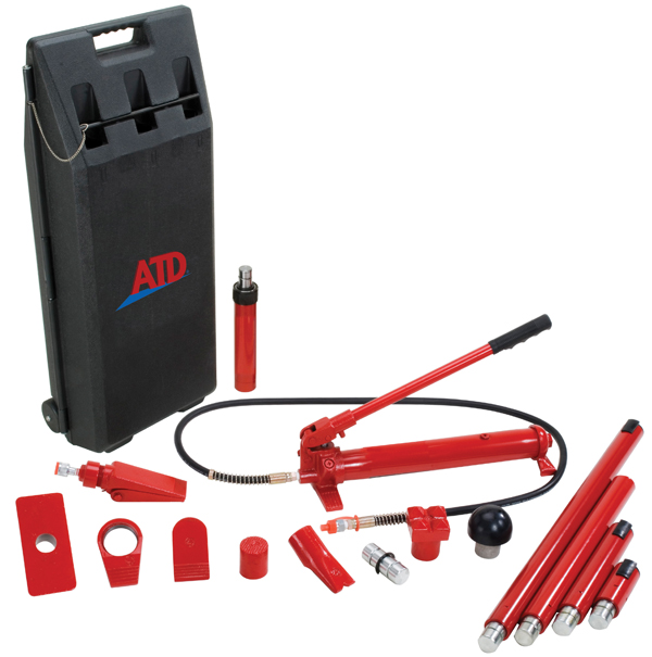 Atd 5810 Atd 10 Ton Porto Power Jack Set Tooldesk Com