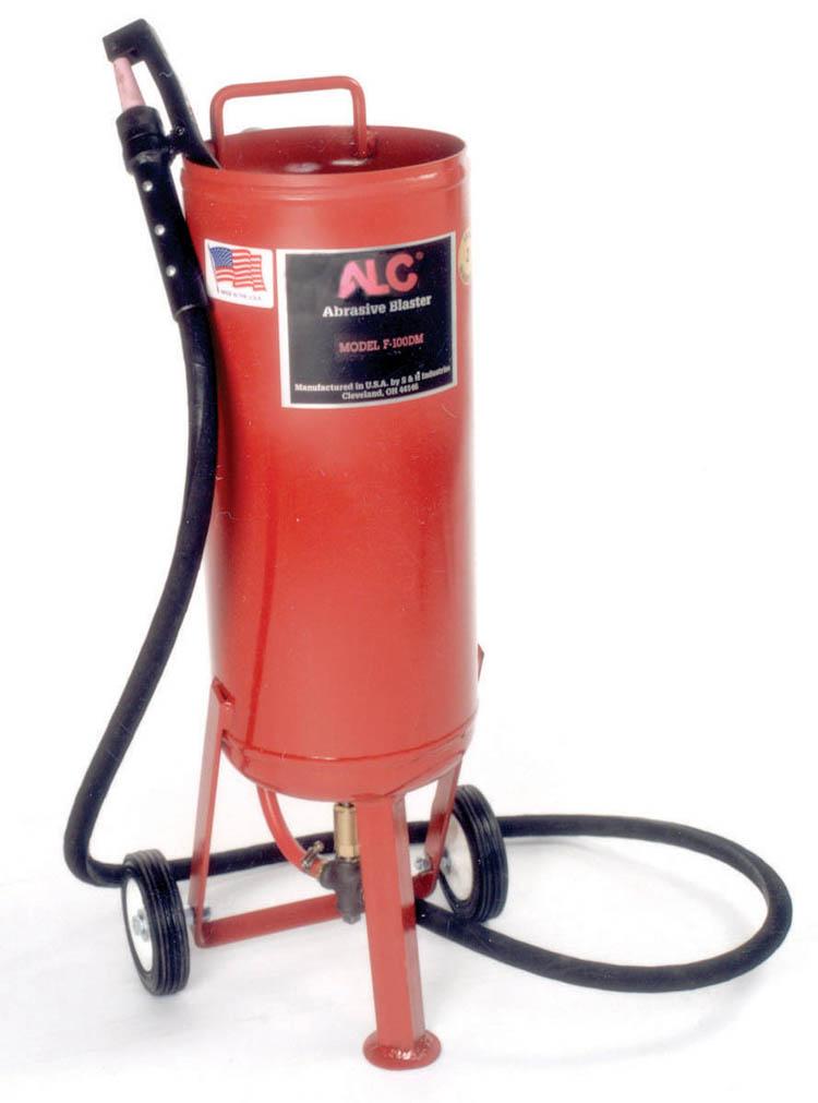 ALC-40002 Deadman Pressure Sandblaster by ALC includes blast hood ...