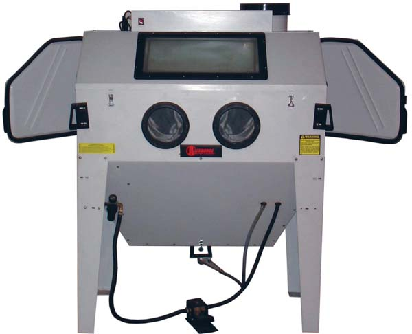 alc 41500 alc 41500 48 triple door sand blast cabinet by keysco rh tooldesk com