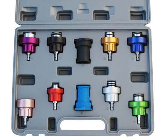 Atd 3305 Atd 10 Pc Cooling System Pressure Test Adapter Update Kit Tooldesk Com