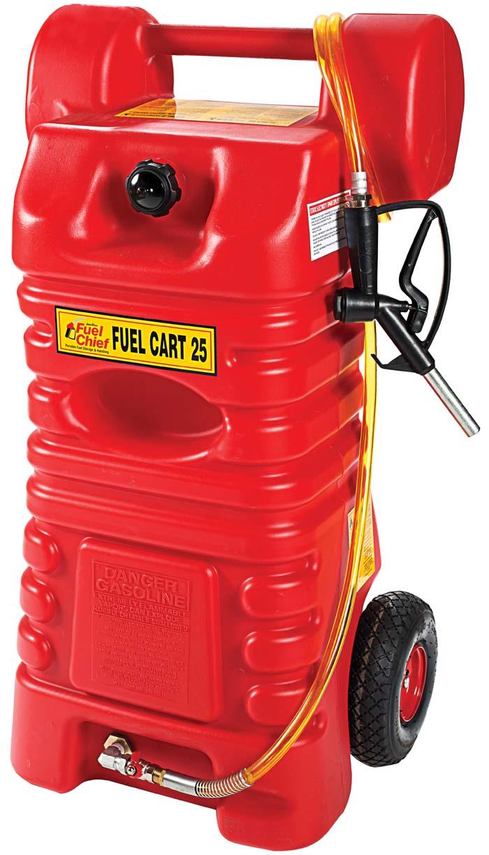 Jdi Fc 25pfc John Dow Fc 25pfc 25 Gal Gas Caddy Fuel Cart