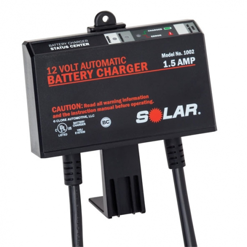SOL-1002 SOLAR 1.5 amp, 12volt, On-Board Battery Charger Solar 1002 on