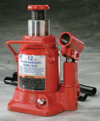 ATD-7385 Bottle Jack by ATD tools 12 ton Short ATD 7385
