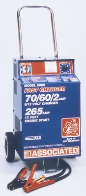 Associated  6/12 Volt Heavy Duty Battery Charger 6009