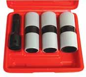 Astro Tools 7835 5pc Impact Socket Set Sleeves Prot