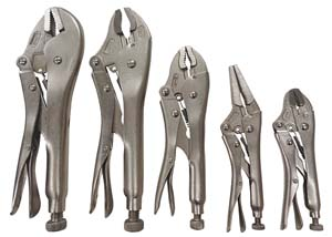 ATD-15001 ATD 15001 5 Pc. Locking Plier Set