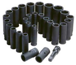 ATD-4901 ATD-4901 29 Pc. 1/2 Drive 6 Point Deep Impact Socket Set