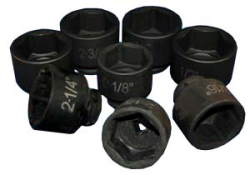 ATD-6401 ATD-6401 8 Pc. 3/4 Drive 6 Point SAE Impact Add-On Set