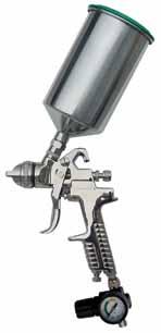ATD HVLP 1 L, 1.3mm Tip Spray Gun (Aluminum Cup)
