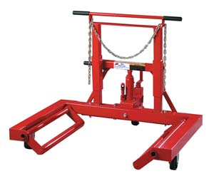ATD 3/4 ton Hydraulic Wheel Dolly
