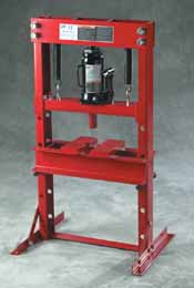 ATD-7452 12 ton Hydraulic Bench Press with Bottle Jack ATD