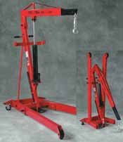 ATD 2 ton Folding Engine Crane