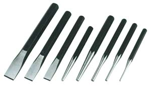 ATD-760 ATD 8 pc. Punch and Chisel Set