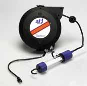 ATD 8095 50' Heavy Duty Reel with Fluorescent Light
