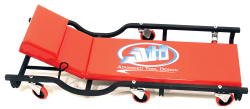 ATD Shop Floor Creeper with Adjustable Head Rest