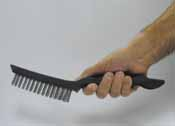ATD Long Plastic Handle Wire Brush