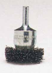 """ATD 1/4"""" Shank Flared End Brush 1 -1/2"""" Diameter .020 wire size"""