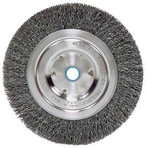 ATD-8361 ATD 8 Wire Wheel with spacer for 5/8 arbor