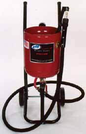 ALC-40000 Deadman Mini Sand Blaster by ALC includes blast hood