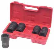 ATD-8624 ATD 5 pc. 1 Drive Budd Wheel Socket Set