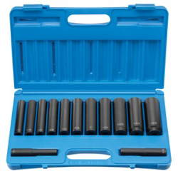 GRY-1313XD Grey Pneumatic 1/2'' Drive Extra–Deep Length Fractional Set