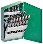 HAN-73149 Hanson 21 Pc. Metal Index Drill bit set