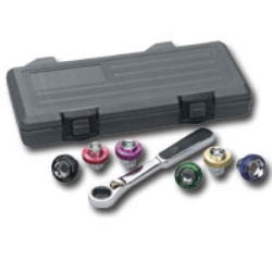 KDT-3870 Engine Oil Magnetic Drain Plug Socket Set by KD tools