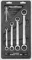 KDT-9240 4 Pc. 5/16 - 3/4  Ratcheting Double Box Gearwrench Set by KD tools