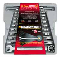 KDT-9412 12 Pc. 8-19mm Gearwrench Ratcheting wrench set - KD Tools
