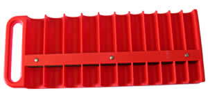 LIS-40900 Lisle 40900 1/2 Magnetic Socket Holder (Red)