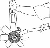 LIS-42920 Lisle Tools Universal Fan Clutch Wench Set