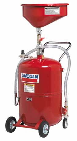 LNC-3614 Lincoln 20 gal. Pressurized Waste Oil Drain