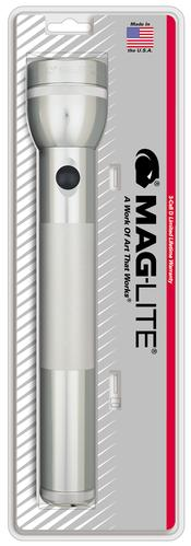 MAG-S3D106 MAGLITE 3D Cell Flashlight Silver