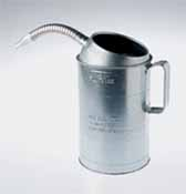 PLE-75444 Plews 75-444 - Measure Liquid 4 Qt. Galvanized Steel Flexible Spout