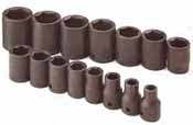 SKT-4035 SK 4035 15 Pc. 1/2 Dr. 6 pt. Standard 3/8-1 1/4 Impact Socket Set