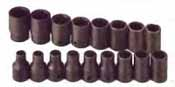 SKT-4036 SK 4036 17 Pc. 1/2 Dr. 6 pt. Standard 8-24mm Impact Socket Set