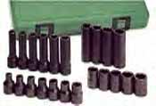 SKT-4052 SK 4052 22 Pc. 1/2 Dr. 6 pt. Metric Impact Socket Set
