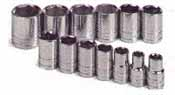SKT-4113-6 SK 4113-6 13 Pc.1/2 inch Drive 6 point 7/16-1 1/4 Socket Set