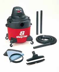 SPV-401-08 8 Gal. Wet or Dry Shop Vac