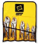 VSG-538KB Vise Grip 5 Pc. Roll Up Pliers Set Curved Jaw and Longnose