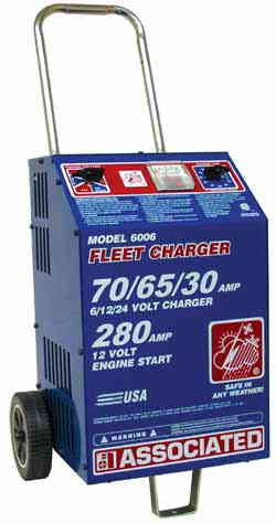 ASO-6006 Associated 6/12/24v Battery Charger