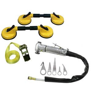 Astro Pneumatic Windshield Removal Kit - Collision Repair
