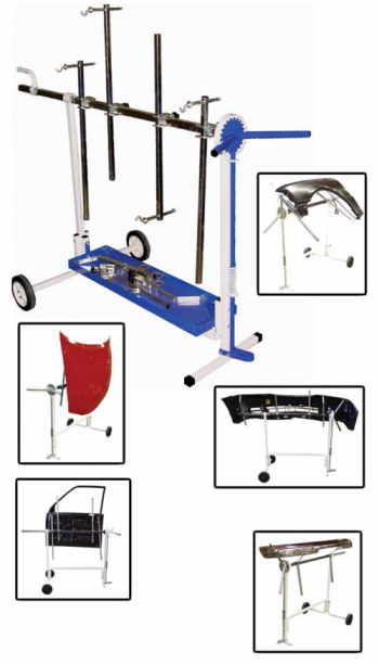 AST-7300 Astro Pneumatic Rotating Work Stand for Paint and Body