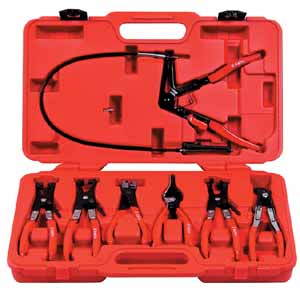 Astro Pneumatic 7pc. Pliers Kit with AST-9409 Hose Clamp Pliers