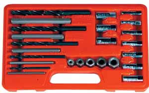 Astro Pneumatic 25pc. Screw Extractor Drill and Guide Set