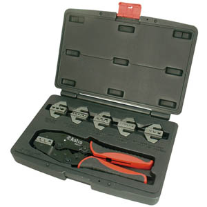 AST-9477 Astro 7pc. Professional Quick Change Ratcheting Crimping Tool Set