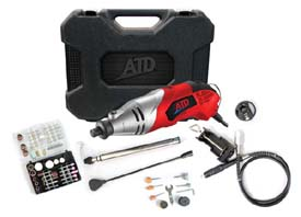 ATD-10531 131 Pc. Variable Speed Rotary Tool Kit