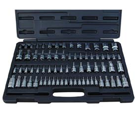 ATD-13772 ATD 72 Pc. Master Star Bit Socket Set 13772
