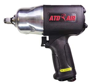 ATD-2106 ATD 2106 1/2 Drive Super-Duty Composite Air Impact Wrench