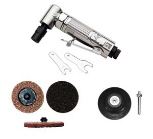 ATD-21310 1/4 Mini Angle Air Die Grinder/Surface Conditioning Kit ATD 21310